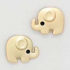 eleph stud, eleph earring