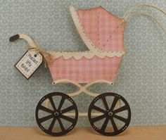 This sweet baby carriage is from the Wrap it Up cartridge.