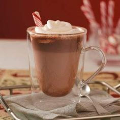 Hot Malted Chocolate Recipe and more Hot Chocolate Recipes for the Holidays from Taste of Home