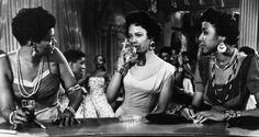 "Pearl Bailey, Dorothy Dandrige & Diahann Carroll in ""Carmen Jones"""
