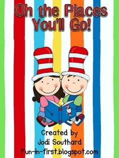 Great Dr. Seuss unit! It focuses on some of Dr. Seuss's most popular books and includes reading and writing activities as well as a science activity.