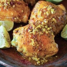 Turmeric Chicken With Sumac And Lime From 'The New Persian Kitchen' kitchens, chicken recipes, sumac, turmer chicken, food, persian kitchen, limes, persiankitchen, turmeric