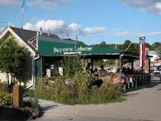 Bayview Lobster Restaurant- not fancy, but goood! lobster restaur, bayview lobster