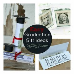 Easy Graduation Ideas: Gifting Money