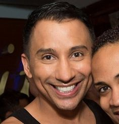 Roy H. a.k.a Bianca Del Rio (out of drag) is really adorable. ;)