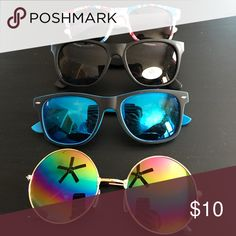 Sun glasses bundle In great condition. I haven't used any of them Accessories Sunglasses