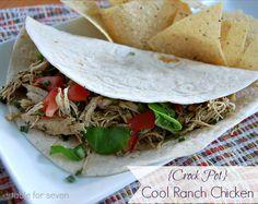 {Crock Pot} Cool Ranch Chicken