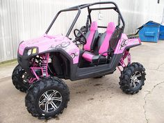 Awesome girly ATV!