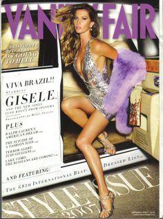 Gisele Bundchen - Vanity Fair September 2007