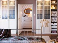 Love those two wardrobes with the windows