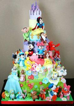 disney wonderland cakes!
