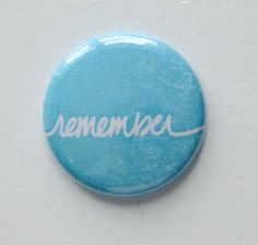 Remember Best of Both Worlds Flair Button by Two Peas @2peasinabucket