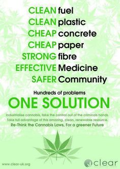 hemp. People have no idea how many products cAn be produced using the hemp plant. Not even in a drug related way . It is cheaper, grows faster and is less damaging to the environment. Using the hemp plant for production has nothing to do with promoting or using marijuana . People new to realize that.