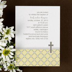 Baptism Invitations - bautizo