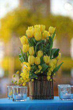 spring centerpiece....