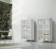 ligne roset cabinet on pinterest shelving units side panels and pure white. Black Bedroom Furniture Sets. Home Design Ideas