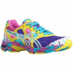ASICS® Gel - Noosa Tri 7 - Women's - Running - Shoes - Electric Purple/White/Sun....Me Want!