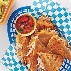 Chicken Quesadilla | MyRecipes.com