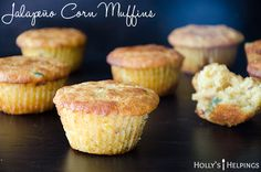 the muffins are made with buttermilk and have spicy jalapeños and chipotles in them.