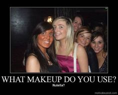 How NOT to do your makeup :)