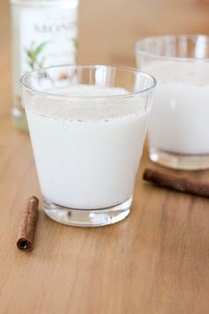 Mexican Horchata: Almond-rice cooler