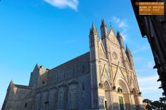 A large 14th century Roman Catholic cathedral situated in the town of  Orvieto in Umbria.