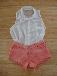 #fashion #style #love #photography #coral #shorts