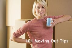 Here are some helpful tips on moving out. This would have been helpful the 3 times I've moved in the past 3 years.