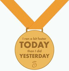 Your Medal for today from Innocent Smoothies :)