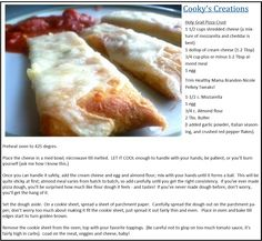 Low Carb Pizza Crust (S)