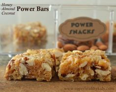 Spartan Kids Almond Coconut Power Bars {With Giveaway!} | Blog