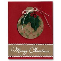 Holiday Card 12 Holly Ornament