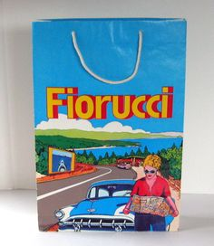Vintage Fiourcci shopping bag