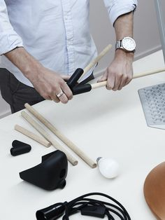 Dowel Jones products. Photo – Eve Wilson. Production – Lucy Feagins on thedesignfiles.net