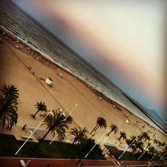 Playa de Gandia desde el RH #Bayren Hotel & SPA #playa #vistas