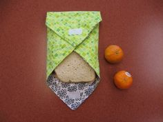 Reusable sandwich bags from Make, Craft, Create: Adult Craft Night at Ruiz | Austin Public Library