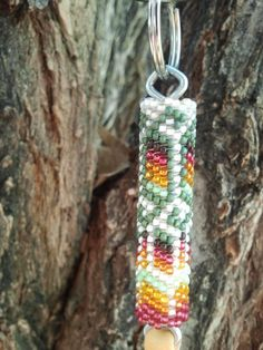 Native American Made Beaded Keychain by LuvMyCraft on Etsy, $20.00