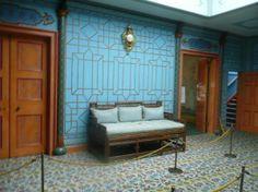Interior of The Royal Pavilion, Brighton, East Sussex