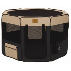 Small Dog (or other small pet) playpen.  Folds easily so you can take it with you when you travel.