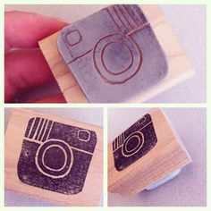 camera carved by Allison Okamitsu
