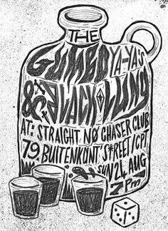 Justus Kotze for The Gumbo Ya-Ya's (Straight No Chaser Club)