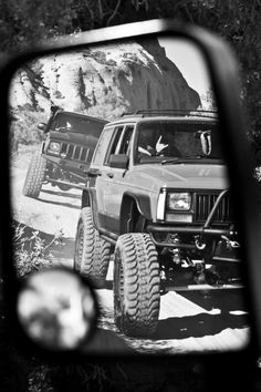 Jeep XJ's on the trail