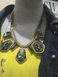 K & R Collection - Blue Streak Necklace  www.mysilpada.com/carolyn.petty