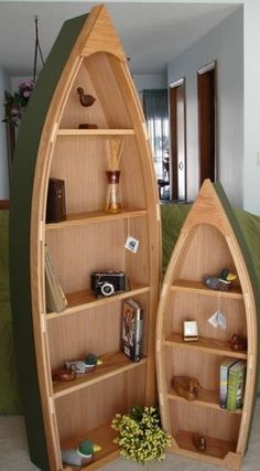 Boat Book Shelf