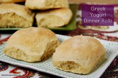 Greek Yogurt Dinner Rolls.