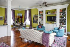 Emily & Andrew's Colorful New Orleans Home