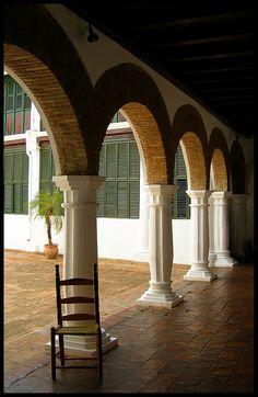 balcon de bolivar (santa ana de coro - venezuela)