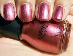 Sinful Colors Dancing Nails -  swatched on false nail $1.00