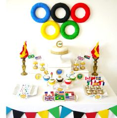 Teacher´s Clipart: Olympics decoration ideas for your classroom