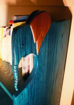 Custom Made Elephant bookcase @Daphne Hager
